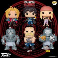 Linha Fullmetal Alchemist Funko pop