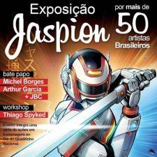 """Exposição """"Jaspion no traço de grandes artistas"""""""