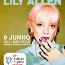 Lily Allen no Brasil