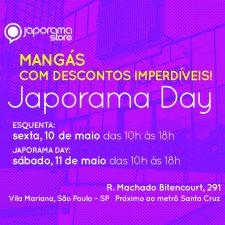 Japorama Day com promoção de mangás