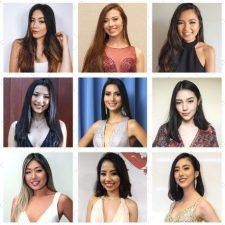 Candidatas ao Miss Nikkey Brasil 2019