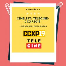 CCXP19: Cinelist especial com curadoria de Érico Borgo