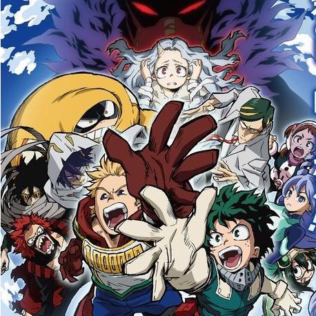 My Hero Academia 4º temporada no Crunchyroll
