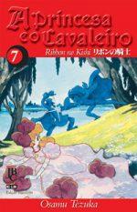 capa de A Princesa e o Cavaleiro #07