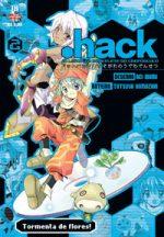 capa de .hack//A Lenda do Bracelete do Crepúsculo #02
