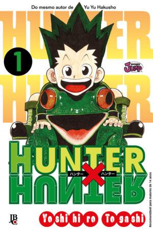 capa de Hunter X Hunter #01
