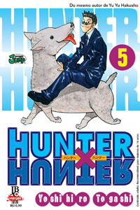 capa de Hunter X Hunter #05