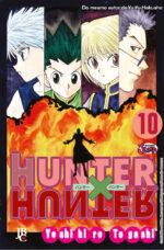 capa de Hunter X Hunter #10