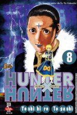 capa de Hunter X Hunter #08