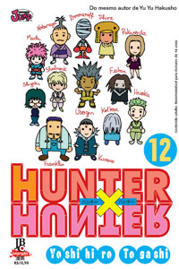capa de Hunter X Hunter #12