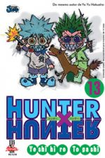 capa de Hunter X Hunter #13