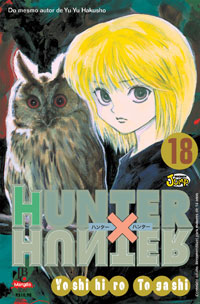 capa de Hunter X Hunter #18