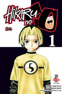 capa de Hikaru no Go #01