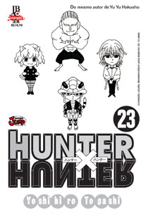 capa de Hunter X Hunter #23