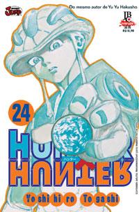 capa de Hunter X Hunter #24