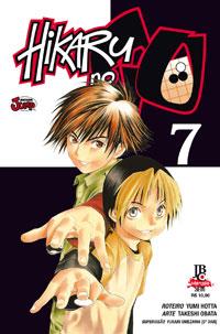 capa de Hikaru no Go #07