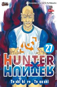 capa de Hunter X Hunter #27