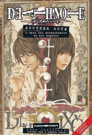 capa de Death Note - Another Note: O Caso dos Assassinatos em Los Angeles