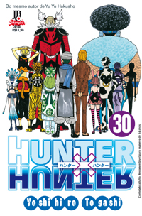 capa de Hunter X Hunter #30