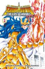 capa de Os Cavaleiros do Zodíaco: The Lost Canvas Gaiden #02