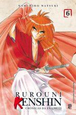capa de Rurouni Kenshin #06