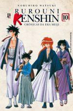 capa de Rurouni Kenshin #10