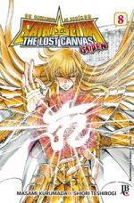 capa de Os Cavaleiros do Zodíaco: The Lost Canvas Gaiden #08