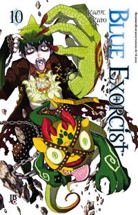 capa de Blue Exorcist #10