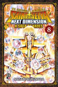 capa de CDZ - Next Dimension: A Saga de Hades #08