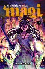 capa de Magi - O Labirinto da Magia #07