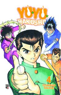 capa de Yu Yu Hakusho ESP. #04