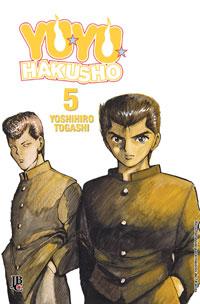 capa de Yu Yu Hakusho ESP. #05