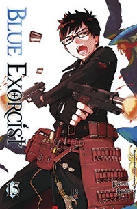 capa de Blue Exorcist #15