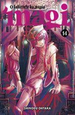 capa de Magi - O Labirinto da Magia #14