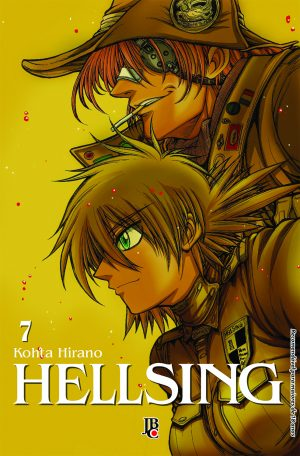 capa de Hellsing ESP. #07