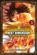 capa de CDZ – Next Dimension: A Saga de Hades #03