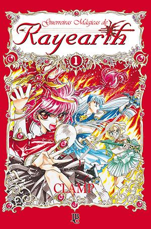 capa de Guerreiras Mágicas de Rayearth #01