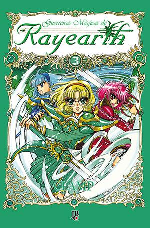 capa de Guerreiras Mágicas de Rayearth #03