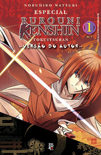 capa de Especial Rurouni Kenshin Versão do Autor #01