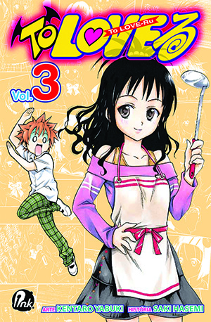 capa de To Love-Ru #03