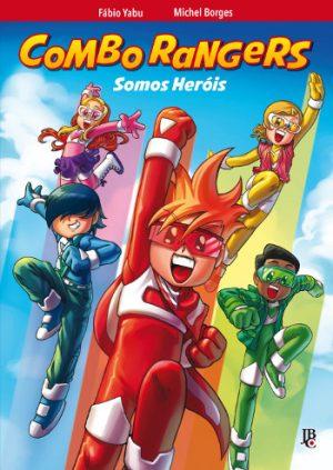 capa de Combo Rangers Graphic Novel - Somos Heróis