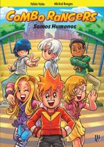 capa de Combo Rangers Graphic Novel 02: Preview