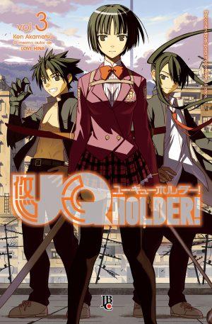 capa de UQ Holder! #03