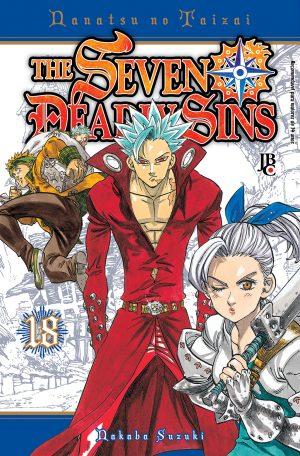 capa de The Seven Deadly Sins #18