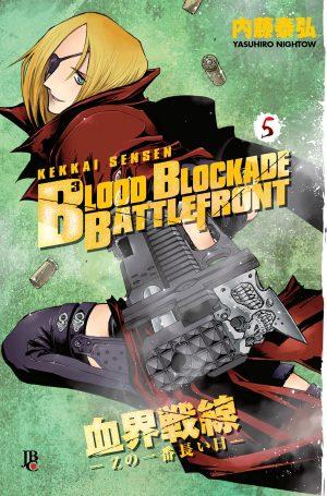 capa de Blood Blockade Battlefront #05