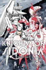 capa de Knights of Sidonia #08