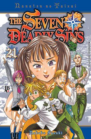 capa de The Seven Deadly Sins #21