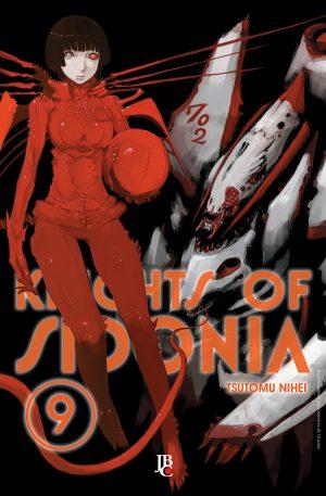 capa de Knights of Sidonia #09