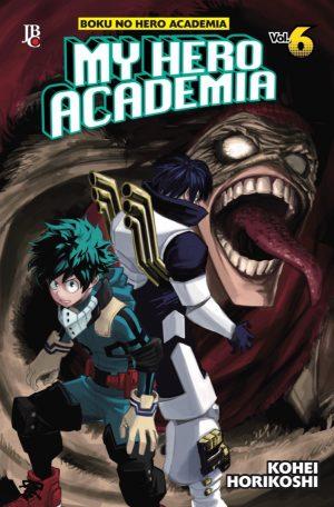 capa de My Hero Academia #06