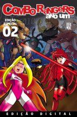 capa de Combo Rangers Ano Um #02